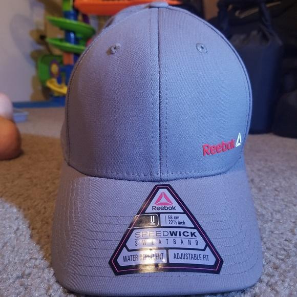 6238ac96 Reebok Accessories   New Gray Sports Essentials Badge Hat   Poshmark